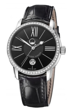 Ulysse Nardin Classico Luna 40mm Mens watch, model number - 8293-122b-2/42, discount price of £8,925.00 from The Watch Source