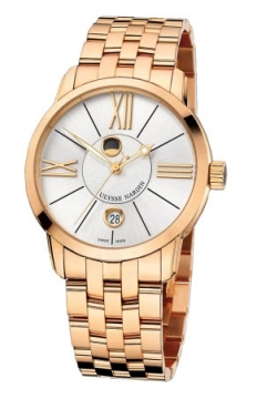 Ulysse Nardin Classico Luna 40mm Mens watch, model number - 8296-122-8/41, discount price of £24,735.00 from The Watch Source