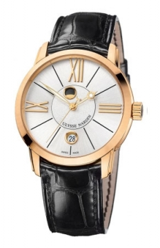 Ulysse Nardin Classico Luna 40mm Mens watch, model number - 8296-122-2/41, discount price of £11,900.00 from The Watch Source