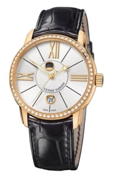 Ulysse Nardin Classico Luna 40mm Mens watch, model number - 8296-122b-2/41, discount price of £15,470.00 from The Watch Source