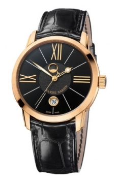 Ulysse Nardin Classico Luna 40mm Mens watch, model number - 8296-122b-2/42, discount price of £15,470.00 from The Watch Source