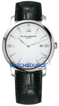Baume & Mercier Classima Quartz 42mm Mens watch, model number - 8485, discount price of £1,075.00 from The Watch Source