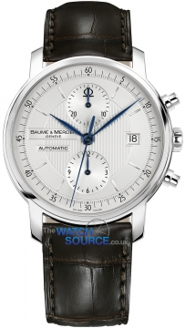 Baume & Mercier Classima Executives Automatic Chronograph Mens watch, model number - 8692, discount price of £2,055.00 from The Watch Source