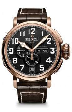 Zenith Pilot Montre d'Aeronef Type 20 Annual Calendar Mens watch, model number - 87.2430.4054/21.C721, discount price of £10,940.00 from The Watch Source