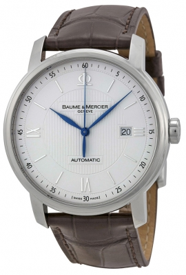 Buy this new Baume & Mercier Classima Automatic 42mm 8731 mens watch for the discount price of £1,657.00. UK Retailer.