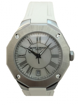 Baume & Mercier Riviera Quartz Ladies watch, model number - 8756, discount price of £1,200.00 from The Watch Source