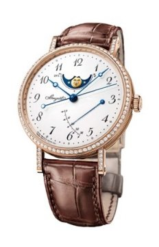 Breguet Classique Moonphase Power Reserve 36mm Ladies watch, model number - 8788br/29/986.dd00, discount price of £19,080.00 from The Watch Source