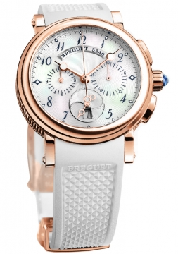 Breguet Marine Chronograph Ladies Ladies watch, model number - 8827br/52/586, discount price of £20,080.00 from The Watch Source