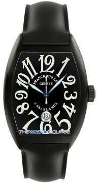 Franck Muller Casablanca Automatic Mens watch, model number - 8880 C DT NR SS Black , discount price of £6,240.00 from The Watch Source
