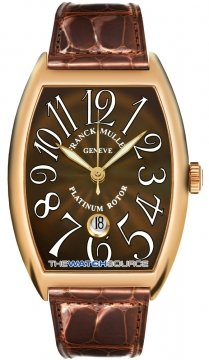 Franck Muller Cintree Curvex Mens watch, model number - 8880 SC DT RG Chocolate, discount price of £14,950.00 from The Watch Source