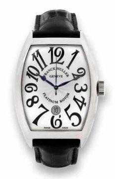 Franck Muller Cintree Curvex 8880 SC DT SS Silver watch