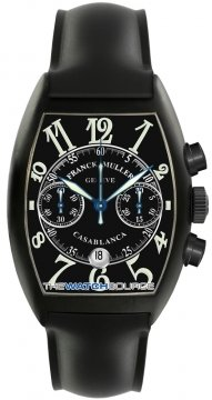 Franck Muller Casablanca Chronograph Mens watch, model number - 8885 C CC DT NR SS Black , discount price of £9,480.00 from The Watch Source