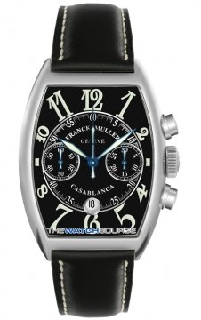 Franck Muller Casablanca Chronograph Mens watch, model number - 8885 C CC DT SS Black, discount price of £9,480.00 from The Watch Source
