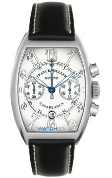 Franck Muller Casablanca Chronograph Mens watch, model number - 8885 C CC DT SS White, discount price of £9,480.00 from The Watch Source