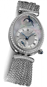 Breguet Reine de Naples Power Reserve Ladies watch, model number - 8908bb/5t/j70.d0dd, discount price of £43,520.00 from The Watch Source