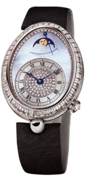 Breguet Reine de Naples Power Reserve Ladies watch, model number - 8909bb/vd/864.d00d, discount price of £71,485.00 from The Watch Source
