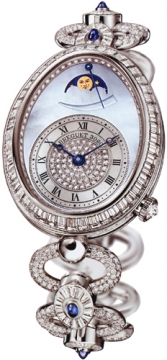 Breguet Reine de Naples Power Reserve Ladies watch, model number - 8909bb/vd/j29.ddd0, discount price of £151,200.00 from The Watch Source