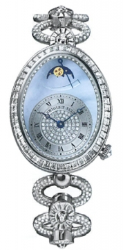 Breguet Reine de Naples Power Reserve Ladies watch, model number - 8909bb/vd/j29.dddd, discount price of £171,040.00 from The Watch Source