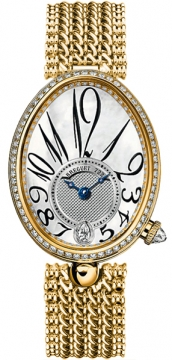 Breguet Reine de Naples Automatic Ladies Ladies watch, model number - 8918ba/58/j20.d000, discount price of £36,450.00 from The Watch Source