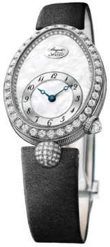 Breguet Reine de Naples Automatic Mini Ladies watch, model number - 8928bb/58/844.dd0d, discount price of £21,930.00 from The Watch Source