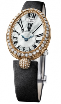 Breguet Reine de Naples Automatic Mini Ladies watch, model number - 8928br/51/844.dd0d, discount price of £21,335.00 from The Watch Source