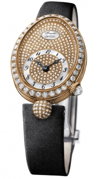Breguet Reine de Naples Automatic Mini Ladies watch, model number - 8928br/8d/844.dd0d, discount price of £23,240.00 from The Watch Source