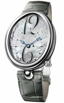 Breguet Reine de Naples Automatic 35mm Ladies watch, model number - 8967st/58/986, discount price of £9,213.00 from The Watch Source