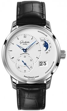 Glashutte Original PanoMaticLunar Mens watch, model number - 1-90-02-42-32-05, discount price of £6,166.00 from The Watch Source
