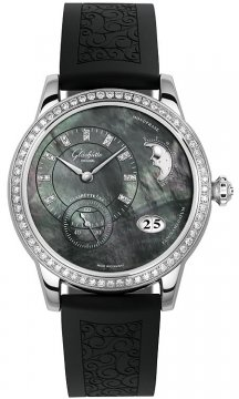 Glashutte Original PanoMaticLunar Ladies Ladies watch, model number - 90-12-02-12-04, discount price of £11,364.00 from The Watch Source