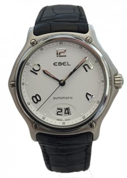 Buy this new Ebel 1911 Automatic Big Date 9125241/10635150 mens watch for the discount price of £1,540.00. UK Retailer.