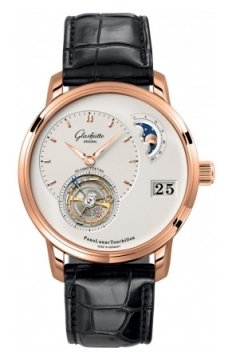 Glashutte Original PanoLunar Tourbillon Mens watch, model number - 93-02-05-05-04, discount price of £66,420.00 from The Watch Source