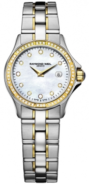 Raymond Weil Parsifal Ladies watch, model number - 9460-sgs-97081, discount price of £2,305.00 from The Watch Source