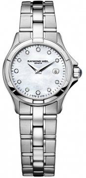 Raymond Weil Parsifal Ladies watch, model number - 9460-st-97081, discount price of £1,060.00 from The Watch Source