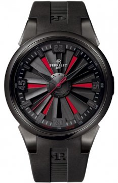 Perrelet Turbine 44mm Mens watch, model number - A1047/1, discount price of £3,120.00 from The Watch Source