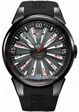 Perrelet Turbine 44mm Mens watch, model number - A4018/1 TURBINE POKER, discount price of £3,568.00 from The Watch Source