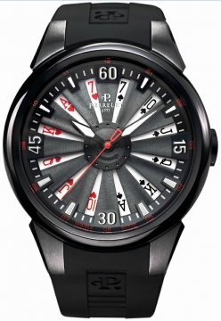 Perrelet Turbine 44mm Mens watch, model number - A4018/2 TURBINE POKER, discount price of £3,568.00 from The Watch Source