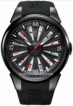 Perrelet Turbine 44mm Mens watch, model number - A4018/3 TURBINE POKER, discount price of £3,568.00 from The Watch Source