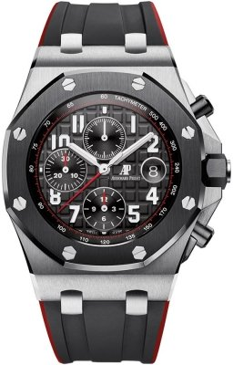 Buy this new Audemars Piguet Royal Oak Offshore Chronograph 42mm 26470so.oo.a002ca.01 mens watch for the discount price of £25,850.00. UK Retailer.