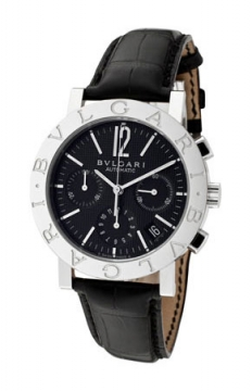 Bulgari BVLGARI BVLGARI Chronograph 38mm Mens watch, model number - bb38bsldch/n, discount price of £4,554.00 from The Watch Source
