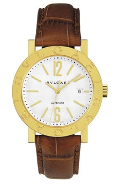 Bulgari BVLGARI BVLGARI Automatic 38mm Mens watch, model number - bb38wgldauto/n, discount price of £9,046.00 from The Watch Source