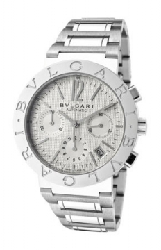 Bulgari BVLGARI BVLGARI Chronograph 38mm Mens watch, model number - bb38wssdch/n, discount price of £5,100.00 from The Watch Source