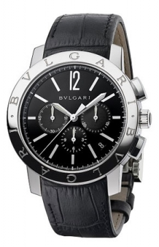 Bulgari BVLGARI BVLGARI Chronograph 41mm Mens watch, model number - bb41bsldch, discount price of £5,768.00 from The Watch Source