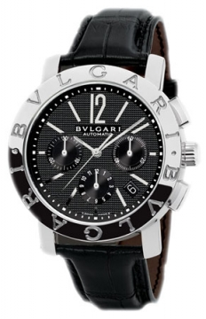 Bulgari BVLGARI BVLGARI Chronograph 42mm Mens watch, model number - bb42bsldch, discount price of £4,675.00 from The Watch Source