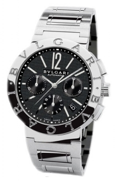 Bulgari BVLGARI BVLGARI Chronograph 42mm Mens watch, model number - bb42bssdch, discount price of £5,252.00 from The Watch Source