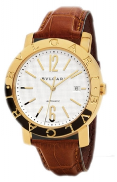 Bulgari BVLGARI BVLGARI Automatic 42mm Mens watch, model number - bb42wgldauto, discount price of £10,868.00 from The Watch Source