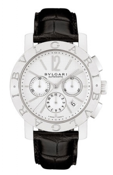 Bulgari BVLGARI BVLGARI Chronograph 42mm Mens watch, model number - bb42wsldch, discount price of £4,205.00 from The Watch Source