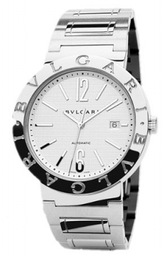 Bulgari BVLGARI BVLGARI Automatic 42mm Mens watch, model number - bb42wssdauto, discount price of £3,544.00 from The Watch Source
