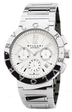 Bulgari BVLGARI BVLGARI Chronograph 42mm Mens watch, model number - bb42wssdch, discount price of £4,760.00 from The Watch Source