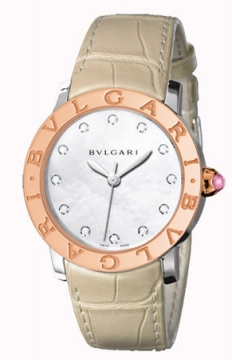 Bulgari BVLGARI BVLGARI Automatic 37mm Ladies watch, model number - bbl37wspgl/12, discount price of £5,191.00 from The Watch Source