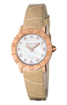 Bulgari BVLGARI BVLGARI Quartz 26mm Ladies watch, model number - bblp26wgl/12, discount price of £6,574.00 from The Watch Source